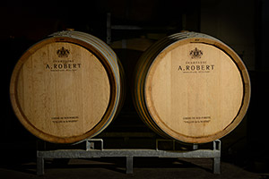 Oak barrels - Champagne A. Robert