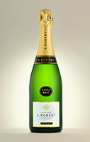 Bouteille champagne Extra-Brut